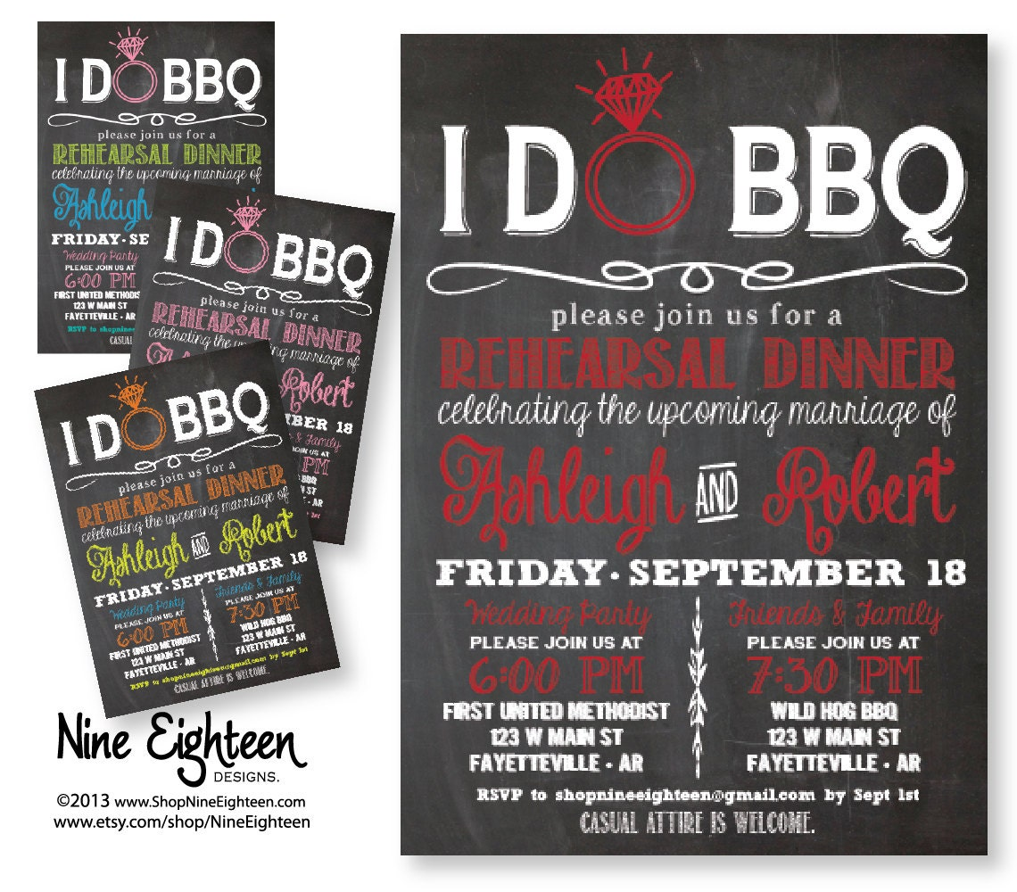 Rehearsal Dinner Invitations Etsy with great invitation template