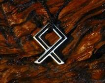 Odal, Othila ,Othala,rune pendant