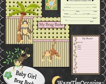 Monkey Business Girl Brag Book