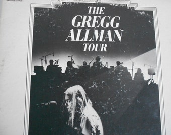 The Gregg Allman Tour - with Cowboy/ Boyer and Talton- 24 piece Orchestra- vinyl record