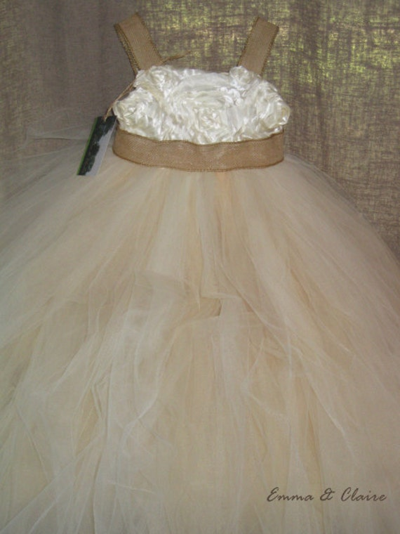 As seen on Martha Stewart's Real Weddings Blog, The Claire Dress (Girls size 6 and up)