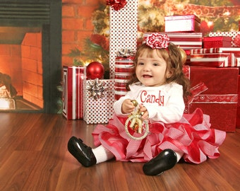 Candy cane cutie  tutu set