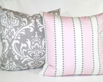 Popular Items For Pink Gray Nursery On Etsy
