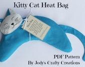 Kitty Cat Heat Bag PDF Pattern