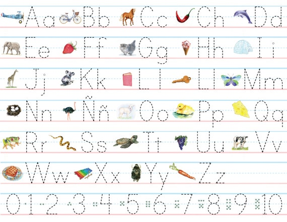 All Worksheets practice abc writing worksheets : Number Names Worksheets » Abc Writing Practice Sheet - Free ...