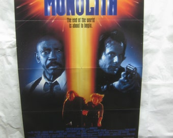 Monolith 1993 Movie Poster mp087