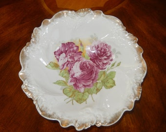 GERMANY HAND PAINTED Bowl