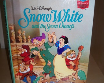 1994 Disney's Snow White and the Seven Dwarfs - Hardback Book