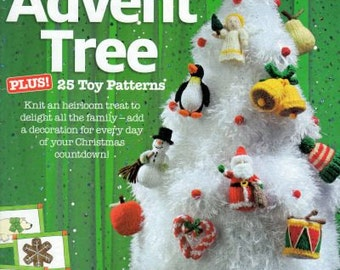 Alan Dart Advent Tree A4 knitting pattern booklet