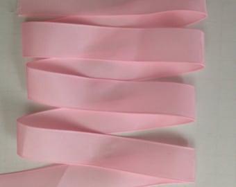 "7/8"" Light Pink- Pink-Bubblegum Pink-Shocking Pink-Fuchsia 5 yards of Grosgrain ribbon-Hair bow-Supplies-Sewing-Fabric-School Ribbon"