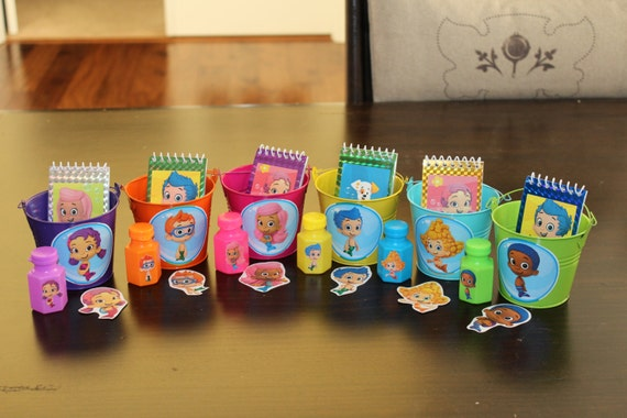 Unavailable listing on etsy - Bubble guppies party favors ideas ...