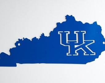 Kentucky outline with Kentucky Cutout.