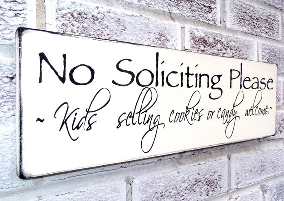 Funny no soliciting sign no solicitation by - Funny soliciting signs ...