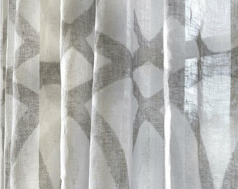 Sheer Fabric, JIM Thompson, Meridienne Pattern