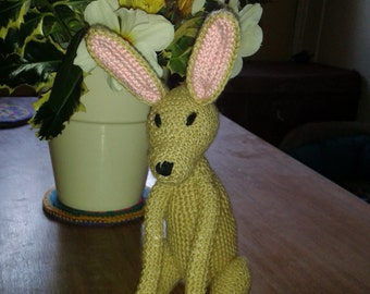 HARE SOFT TOY pdf crochet pattern
