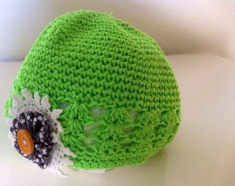 Baby Beanie - Green