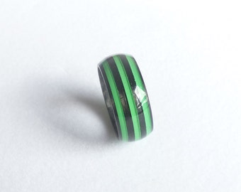 carbon fiber green ring