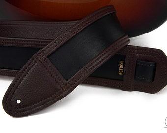 Charwood Soft Leather Custom Guitar Strap