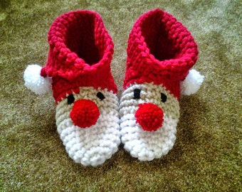 Children's Santa Slippers