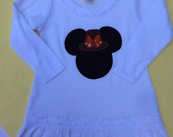 Pilgrim Minnie Mouse Longsleeve Dress