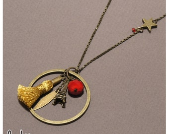 JUST IN PARIS long necklace