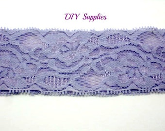 Lavender lace headband - baby headbands - lace headbands - stretch headbands- infant headbands - wholesale headbands