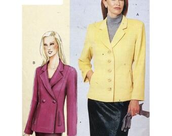 Vogue Sewing Pattern 7334 Misses' Petite Jacket Size:  A-B-C  Uncut