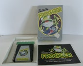 Vintage Classic Atari Frogger Game, Complete Set 1982
