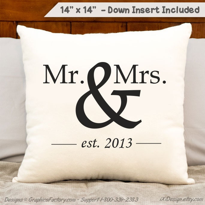 Mr And Mrs With Date Anniversary Gift Wedding Gift 2nd