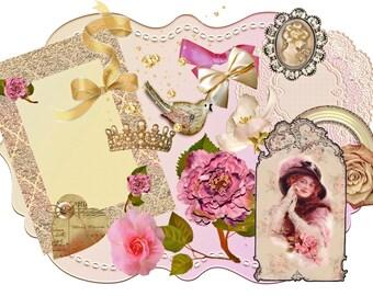Golden Paper embellishments.