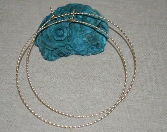 Hoop Earrings 3 inch - 14k Gold Filled Large Hoop Earrings - Hoop Earrings Gold - Circle Earrings