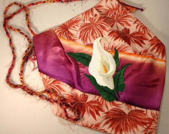 Tropical Calla Lily Purse