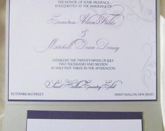 Love Story (Wedding Invitation)