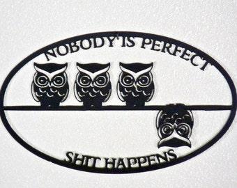 Metal Owl Wall Decor metal owl wall art | etsy