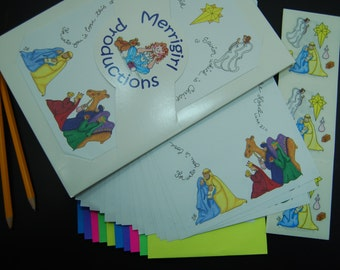 Nativity Stationery Set