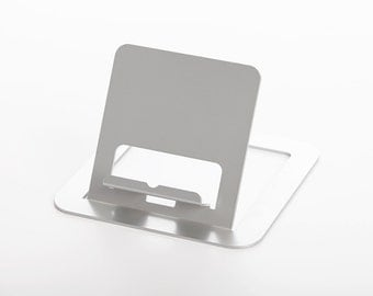 RMP Silver Universal Tablet Stand for iPad/iPad 2, Galaxy Tab, Surface, Nook, Nexus and Other Tablets