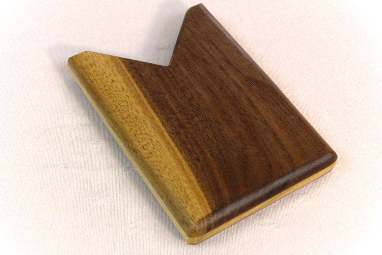 Business Card Holder for Pocket Purse or Desk Handsome