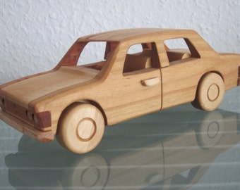 FSO 125P limousine poland east german wood car model car very rare handmade