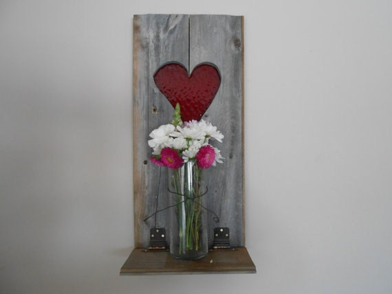 Wall Decor Out Of Wood : Items similar to wood wall decor heart shape cut out