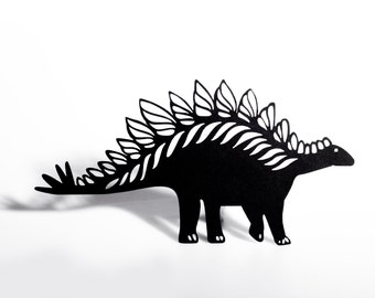Stegosaurus Shadow Puppet - Laser Cut Dinosaur
