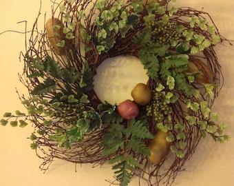 The Lucky Irish Potato Wreath