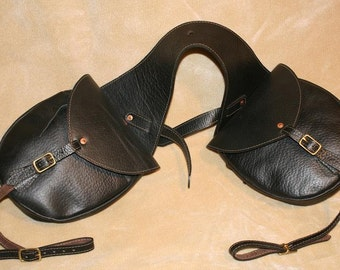 Horse shoe saddlebags Historic Reproduction