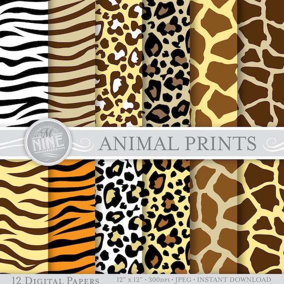 wild animal print wallpaper - photo #10
