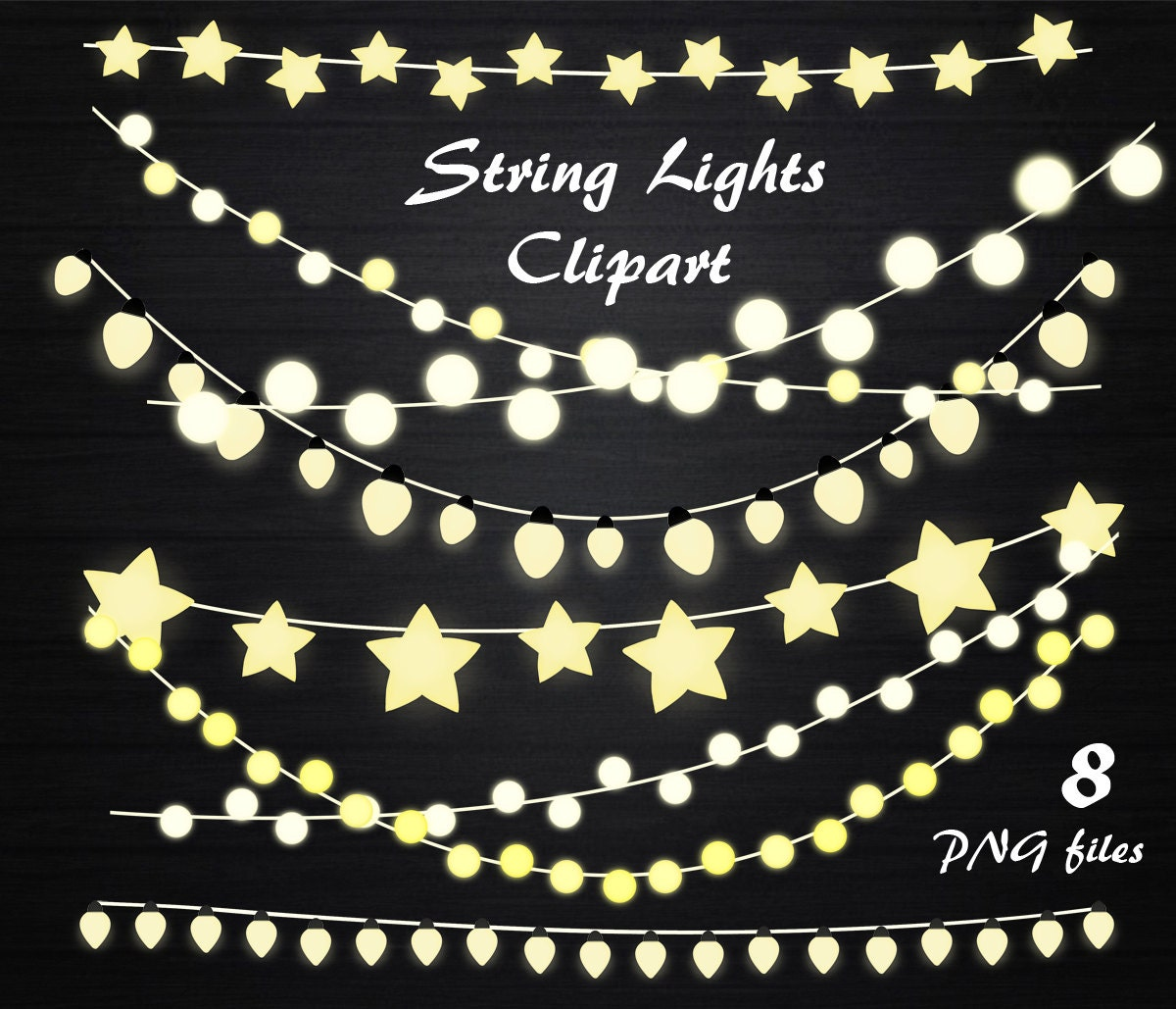 String Lights Clipart String lights clip art Lights clipart