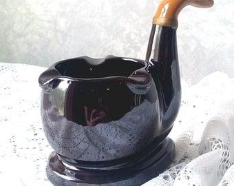 Vintage Chase Ceramic Pipe Ashtray