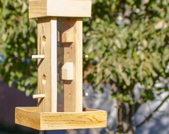 Tall Bird Feeder
