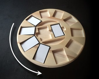 Turntable for board games