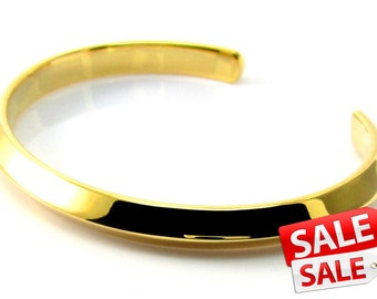 Simple Gold Cuff Bracelet Simple Gold Bracelet Cuff Simple Gold Brass Cuff Bracelet Simple Gold Brass Bracelet Cuff 090