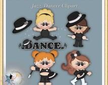 Jazz Dancer Clipart