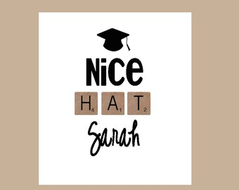 Graduation Card - 2017 Graduation Card - Custom Graduation Card - Grad Card 2017 - College Graduation Card - University Graduation Card